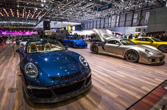 83rd Geneva Motorshow 2013 Royalty Free Stock Photos