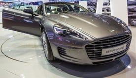 83rd Geneva Motorshow 2013 - Bertone sprutar ut 2+2 Arkivfoto