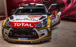 83rd Geneva Motorshow 2013 -  Citroen DS4 Racing Royalty Free Stock Images