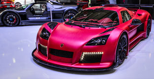 83rd Geneva Motorshow 2013 - Gumpert Stock Photography