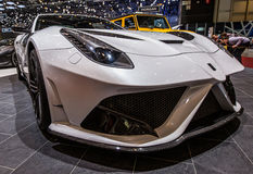 83rd Geneva Motorshow 2013 - ItalDesign Giugiaro Parcour Roadster Arkivbild