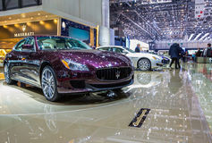 83rd Geneva Motorshow 2013 - Maserati Stock Image
