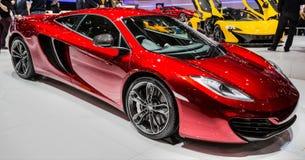 83rd Geneva Motorshow 2013 - McLaren P1 Royaltyfri Fotografi