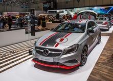 83rd Geneva Motorshow 2013 - Mercedes Benzsport Arkivfoto