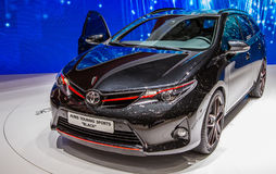 83rd Geneva Motorshow 2013 - Mitsubishi Auris Arkivfoto