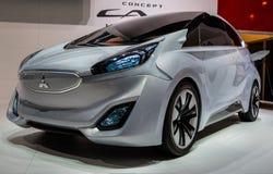 83rd Geneva Motorshow 2013 - Mitsubishi begrepp CA-MIEV Fotografering för Bildbyråer