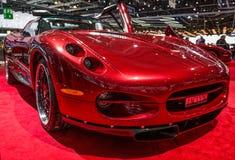 83rd Geneva Motorshow 2013 - Sbarro Jaclyn Royaltyfri Fotografi