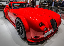 83rd Geneva Motorshow 2013 - Wiesmann GT MF4 Clubsport Stock Photo
