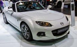 83ste Genève Motorshow 2013 - Mazda MX5 Royalty-vrije Stock Foto's