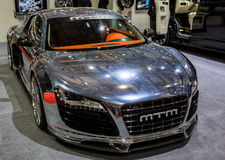 83ste Genève Motorshow 2013 - MTM Audi R8 V10 Biturbo Stock Foto's