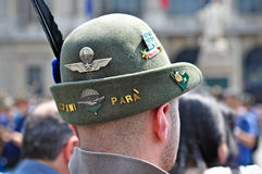 84. Nationale Versammlung von Alpini in Turin, Italien Stockfotos