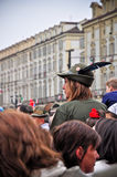 84th National Gathering of Alpini in Turin, Italy Royalty Free Stock Images