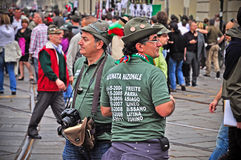 84th National Gathering of Alpini in Turin, Italy Stock Photo