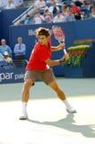 85 2008 Roger Federer pan nas otwarte Fotografia Royalty Free