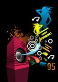 85-95 Retro. Dedicated to the decades past. 1994 anyone vector illustration
