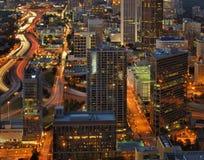 85 d'un état à un autre à Atlanta Image libre de droits
