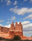 85 łuków park narodowy Zdjęcia Stock
