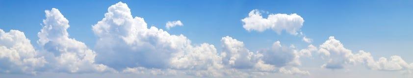 8500px nubla-se o panorama Imagens de Stock