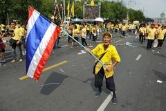 85o cumpleaños del rey tailandés Foto de archivo