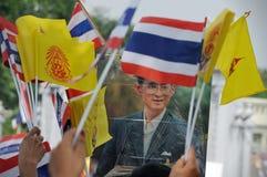 85o cumpleaños del rey tailandés Imagenes de archivo