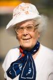 86 лет женщины Стоковое Фото