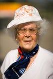 86 años de mujer Fotografía de archivo libre de regalías