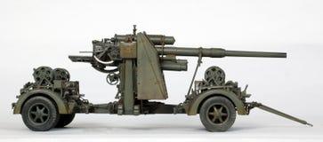 88高射炮 库存照片