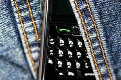8820个黑莓移动电话 库存图片