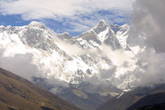 8848 mount Everest m Zdjęcia Royalty Free
