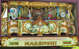 89 key Marenghi fairground organ Royalty Free Stock Photography