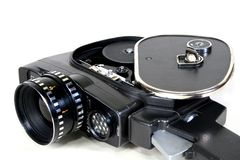 8mm古色古香的照相机 库存照片