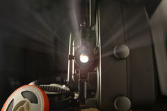 8mm电影放映机 免版税库存照片