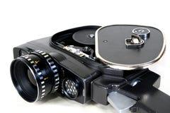 8mm antique camera. 16mm, 8mm antique camera. Cinecamera Stock Photos