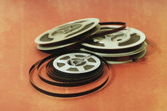 8mm cine film Royalty Free Stock Photography