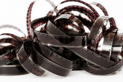 8mm film tape Royalty Free Stock Image