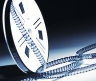 8mm Filmrolle Stockbild