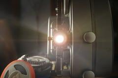 8mm ljus projektor Arkivfoton