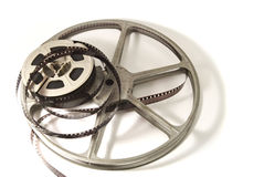8mm Movie Film and reels Stock Images