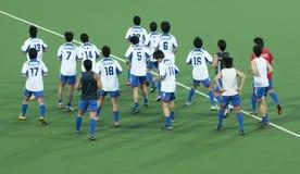 8o Copo de Ásia dos homens Japão 2009 contra Bangladesh Imagens de Stock