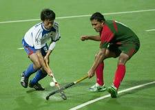 8o Copo de Ásia dos homens Japão 2009 contra Bangladesh Imagem de Stock Royalty Free