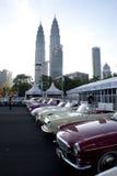 8o Quilolitro do vintage e Concourse clássico do carro Fotos de Stock Royalty Free