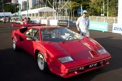 8o Quilolitro do vintage e Concourse clássico do carro Fotos de Stock