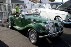 8o Quilolitro do vintage e Concourse clássico do carro Fotografia de Stock Royalty Free