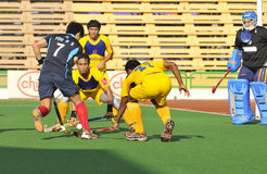 8th AirAsia Men's Asia Cup 2009 Malaysia vs Korea Royalty Free Stock Photo