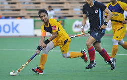 8th AirAsia Men's Asia Cup 2009 Malaysia vs Korea Royalty Free Stock Images