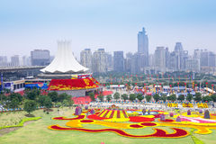 The 8th China-Asean Expo. The picture shows the opening ceremony of the 8th China-ASEAN Expo(October 21-26,2011).It held once a year in Nanning, China, builds up Royalty Free Stock Photography