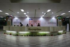 8th Karachi internationalbokmarknad royaltyfria bilder