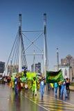 8th karnevaljoburg ståtar gatan Royaltyfria Bilder