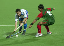 8th Men's Asia Cup 2009 Japan vs Bangladesh Royalty Free Stock Photo