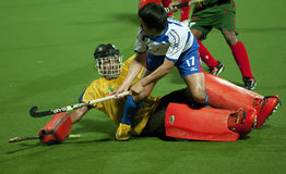 8th Men's Asia Cup 2009 Japan vs Bangladesh Royalty Free Stock Photos